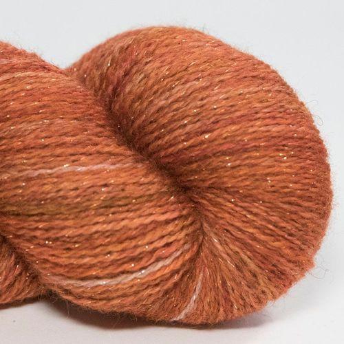 <!-- 006 -->4ply BFL & Masham Sparkle - Copper 17Z