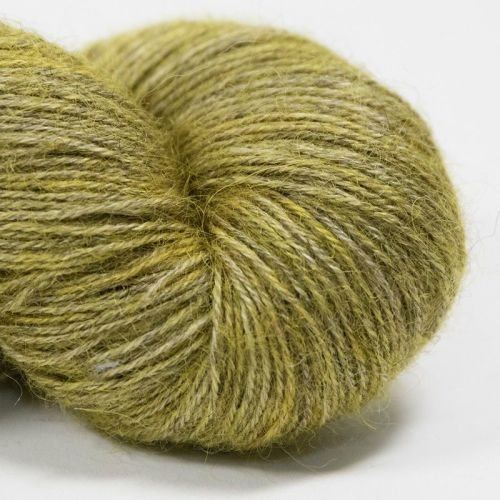 4ply Wensleydale and Shetland - gold 18A