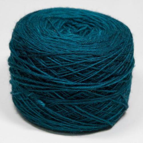 4ply wool and nylon - Green