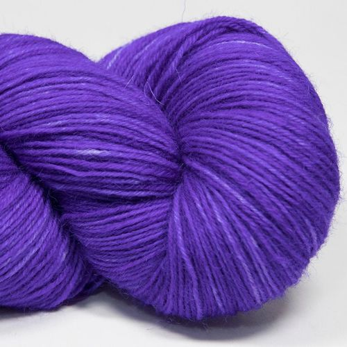 4ply wool and nylon - Violet