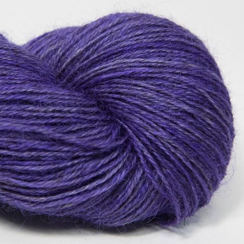 4ply Wensleydale and Shetland - violet 18B
