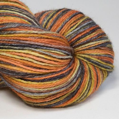 4ply Britsock - Fox in the Moonlight 18B
