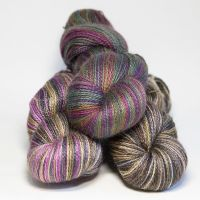 4ply BFL and mohair