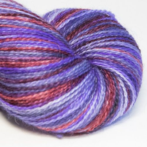 <!-- 001 --> 4ply BFL and Mohair - Berry Delight 18C