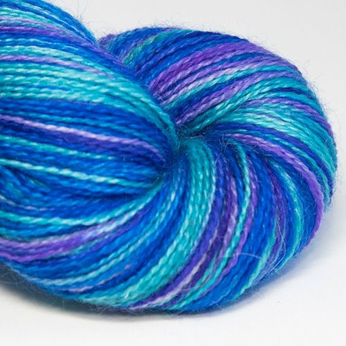 <!-- 001 --> 4ply BFL and Mohair - Dragon Fly 18C