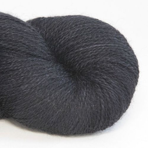 <!-- 003 --> 4ply BFL and Mohair - Black 18C