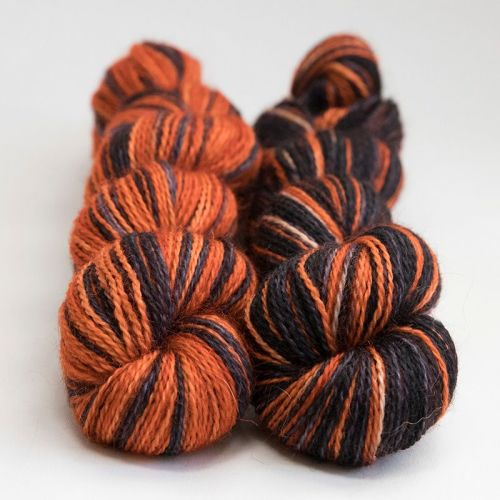<!-- 004 --> 4ply BFL and Mohair - Same Difference Tiger Feet