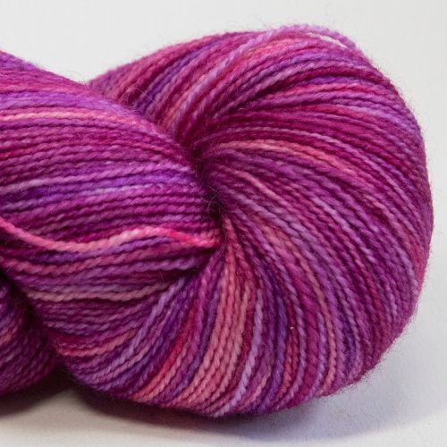 4ply BFL & nylon - Berry Crush 17E