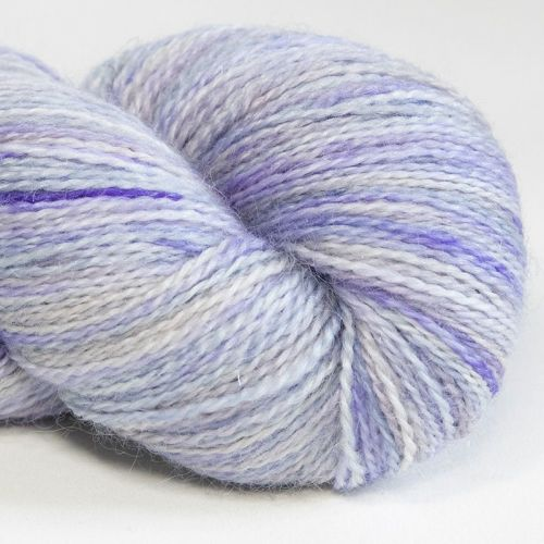 <!-- 001 -->4ply BFL, silk and alpaca - Ghost 18D
