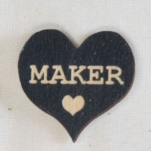Heart Pin - Maker