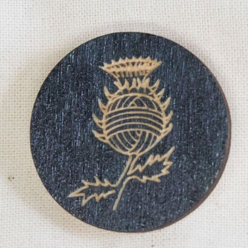 Woolly Thistle Pin