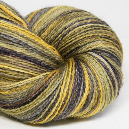 <!-- 001 --> 4ply BFL and Mohair - Grellow 18G