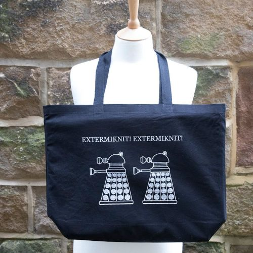 Canvas Tote Bag - EXTERMIKNIT!