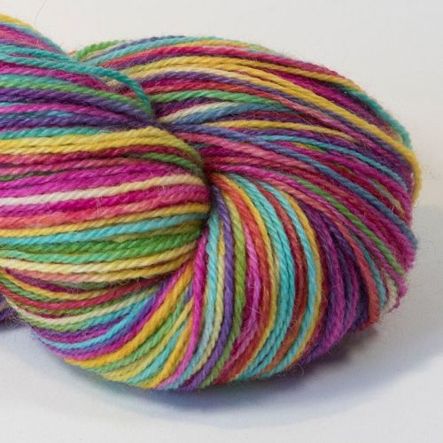 4ply Britsock - Ultimate Rainbow 18O