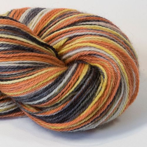 4ply Britsock - Fox in the Moonlight 18O