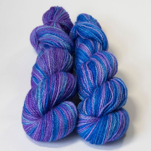 <!-- 004 --> 4ply BFL and Mohair - Purple Haze 18P