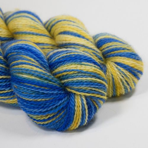 <!-- 004 --> 4ply BFL and Mohair - Mythical Biscuit 18R
