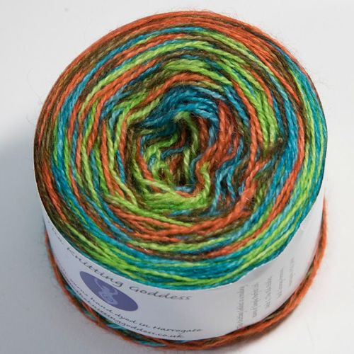 4ply BFL and Mohair - Self Striping - Scooby Doo 18AA