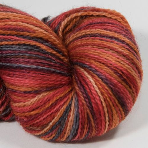 <!-- 001 --> 4ply BFL and Mohair - Ember 18AA