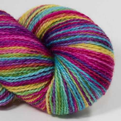 <!-- 001 --> 4ply BFL and Mohair - Ultimate Rainbow 18AA