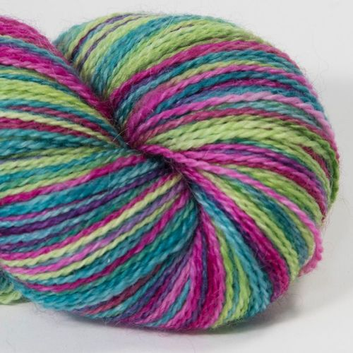<!-- 001 --> 4ply BFL and Mohair - Flower Power 18AA