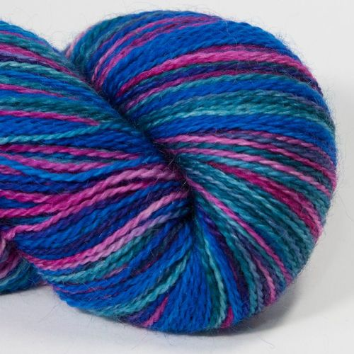 <!-- 001 --> 4ply BFL and Mohair - Parakeet 18AA