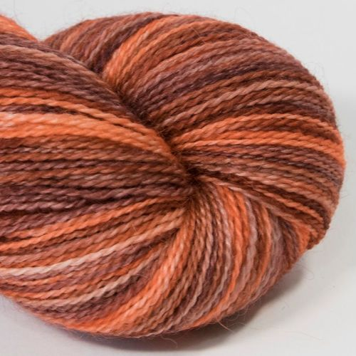 <!-- 001 --> 4ply BFL and Mohair - Ruby Tuesday 18AA