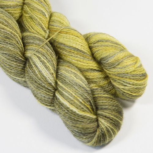 <!-- 004 --> 4ply BFL and Mohair - Grunge 18AA