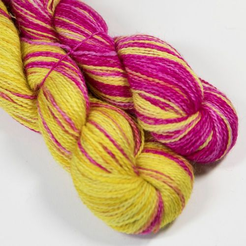 <!-- 004 --> 4ply BFL and Mohair - Sunshine 18AA