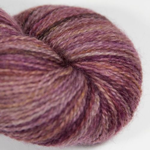 <!-- 002 --> 4ply BFL and Mohair - Brick 18E
