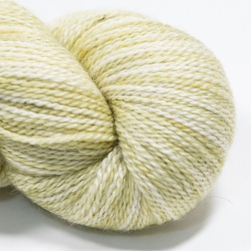 <!-- 002 -->4ply BFL, silk and alpaca - Lichen 18AA