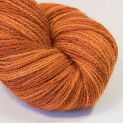 <!-- 001 -->4ply Britsock - January Sock Club - Apricot Sorbet Loud
