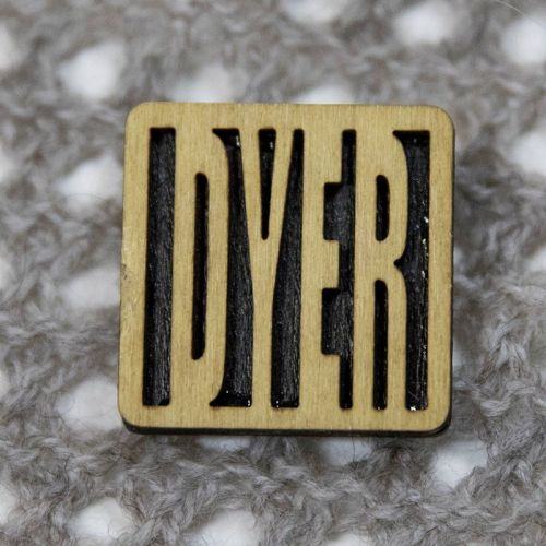 Square Pin - DYER