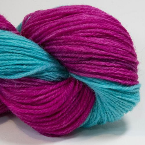 DK sock yarn - Pink and Turquoise