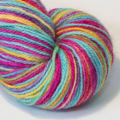 4ply Britsock - Ultimate Rainbow 19A