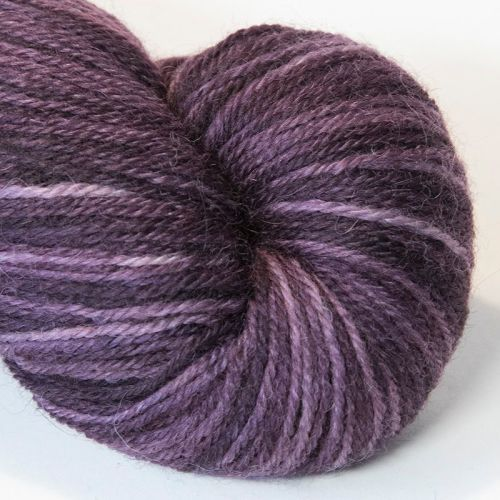 <!-- 001 -->4ply Britsock - Darkened Plum 19C