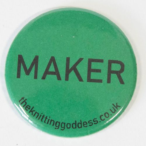 <!-- 004 -->Single Badge - MAKER