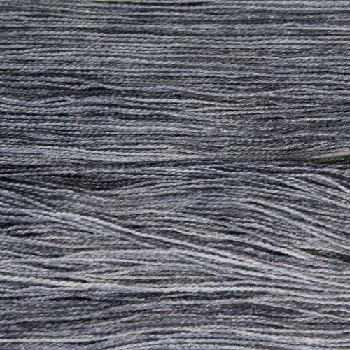 <!-- 002 -->Lace Weight BFL and Silk - Silver 19N