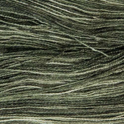 <!-- 007 -->Lace Weight BFL and Silk - Shaded Yellow 19N