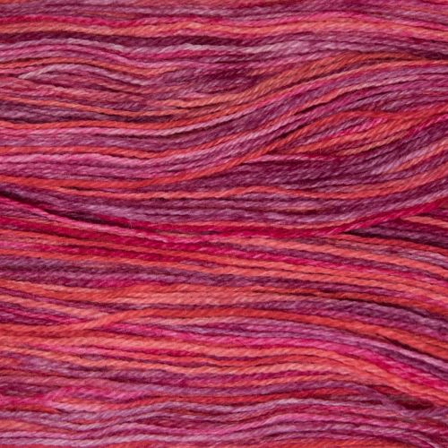 4ply Britsock - Ruby Red 18AB