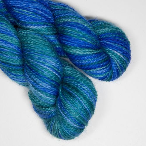 <!-- 004 --> 4ply BFL and Mohair - Earth and Sky SD