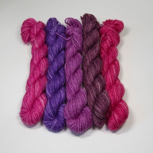 Britsock  Mini Skeins - Very Berry