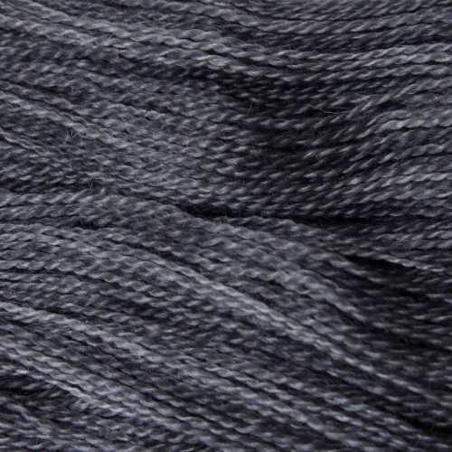 <!-- 002 -->  4ply BFL and Mohair - Charcoal 19M