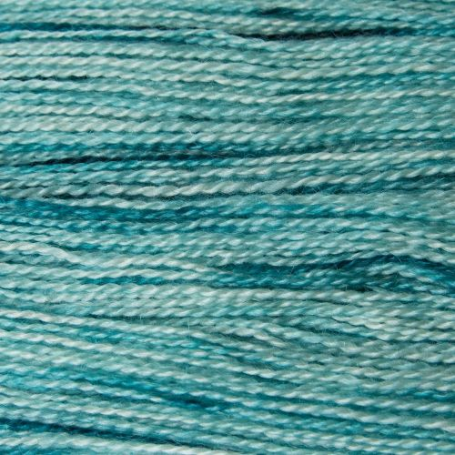 <!-- 002 -->  4ply BFL and Mohair - Green 19M