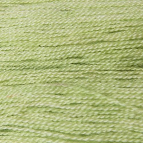 <!-- 002 -->  4ply BFL and Mohair - Lime 19M
