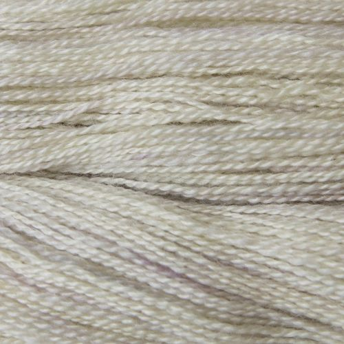 <!-- 002 -->  4ply BFL and Mohair - Pale Ghost 19M