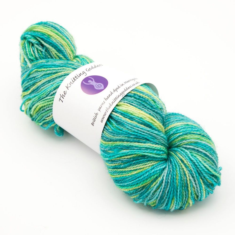 4ply BFL & nylon - Meadow 19M