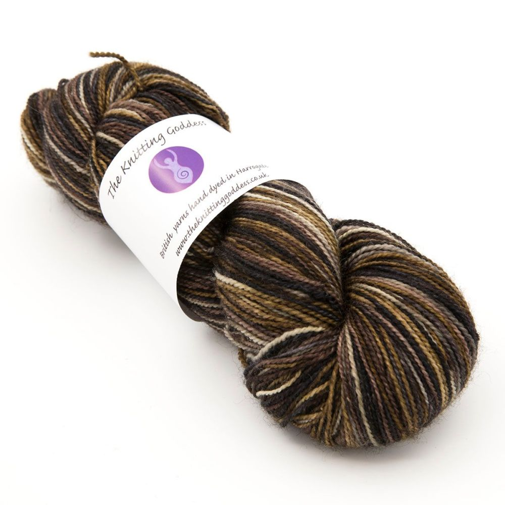 4ply BFL & nylon - Natural Beauty 19M