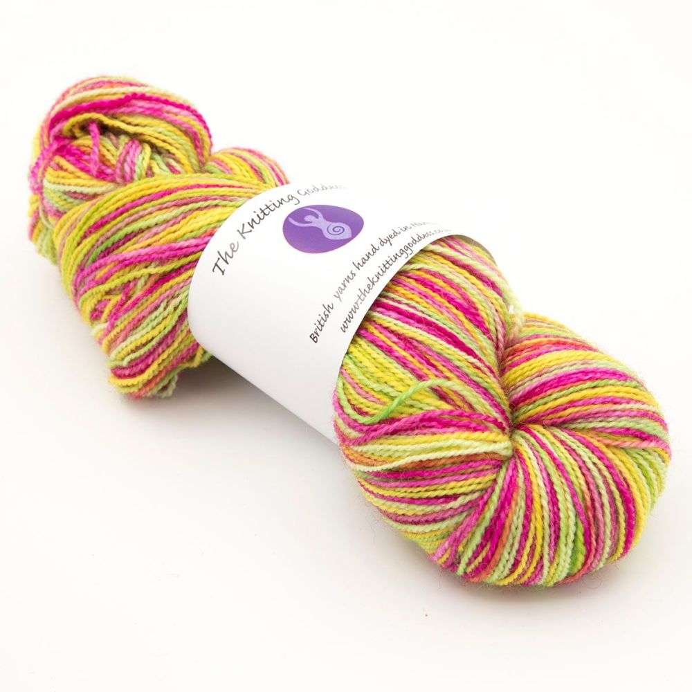 4ply BFL & nylon - That's Refreshing 19M