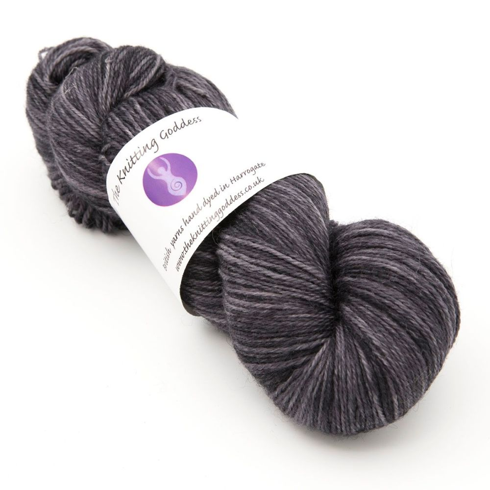 4ply Britsock - Charcoal 18P